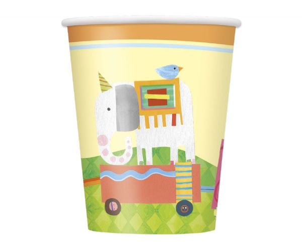 Circus Animal Paper Cups (8)